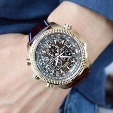 Citizen BL5403-03X Eco-Drive Chronograph Leather Strap Men's Watch 48mm