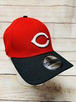 Cincinnati Reds New Era MLB Team Classic Road 39THIRTY Flex Fit Hat Cap Red S/M