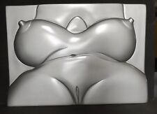 Jessica Rabbit #7 Nude Erotic Art Sculpture Bas Relief   By Don Maguire
