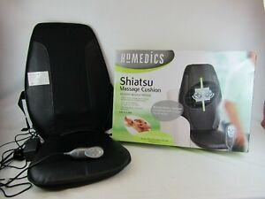 Homedics shiatsu massage cushion seat with remote control in box EXC COND