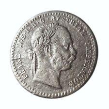 New Listing1868 Silver Coin Austria 10 Kreuzer Franz Joseph I