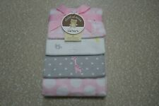Child of Mine by Carter's 4 pack Giraffe Flannel Blankets NWT