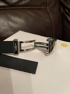 Genuine Breitling Deployment Clasp With Rubber Strap 24mm
