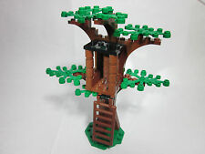 LEGO custom forest tree house with green leaves, new parts, FREE U.S. Ship!