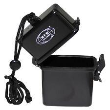 MFH Box, Kunststoff, wasserdicht, Nackenband, schwarz