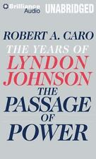 The Years of Lyndon Johnson: The Passage of Power by Robert A. Caro (2013, CD)