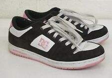 DC Manteca 2 Brown Pink White Women's Skateboarding Shoes US 9 EU 40.5 GREAT