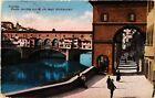 CPA FIRENZE Ponte Vecchio con la via degli Archibusteri. ITALY (501513)