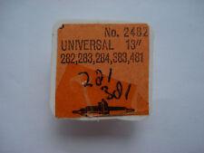 Universal 281 282 283    Balance staff  Unruhwelle  Axe de balancier