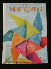 Vintage New Yorker Magazine September 3 1949  Ilonka Karasz cover art