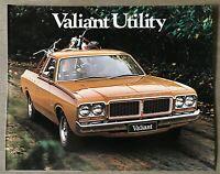 c1977 Chrysler Valiant Utility original Australian sales brochure - 6/200240