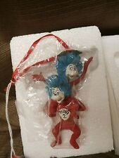 Dept-56-Dr-Seuss-THING 1 and THING 2  -ornament-2011-collection-NEW