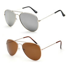Aviator Sunglasses Mirrored Fashion Mens Ladies Classic Outdoor Driving Glasses