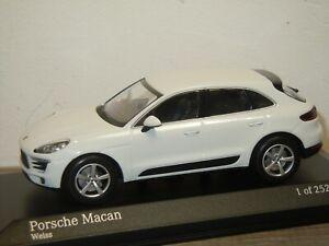 Porsche Macan 2013 - Minichamps 1:43 in Box *37272