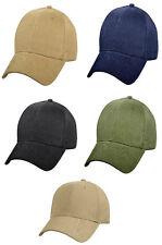 Supreme Solid Color Low Profile Cap Baseball Hat Rothco
