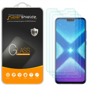 3X Supershieldz for Huawei Honor 8X Tempered Glass Screen Protector Saver