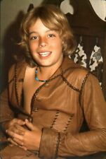 A Leif Garrett Smiling Sitting On  Chair 8x10 Picture Celebrity Print