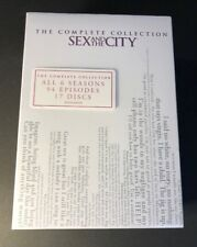 Sex and the City The Complete Collection [ 6 Seasons in 17 Discs ] (DVD) NEW