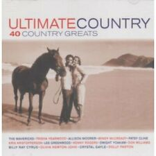 """ULTIMATE COUNTRY""-Tracks 2CD-Mavericks-Yearwood-McCready-Cline-Cyrus-Parton-NEW"