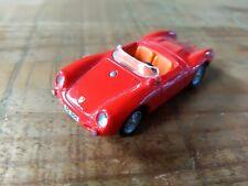 PORSCHE 550A SPYDER ROUGE 1/72 CARARAMA HONGWELL