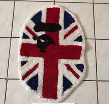 100% authentic a bathing ape Bape UK London rug shark Ape blue red Vintage OG