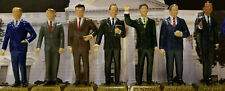 U.S. PRESIDENT FIGURINES MARX NEVER MADE - FORD THRU OBAMA