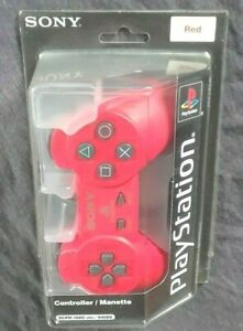 [OFFICIAL SONY OEM] Factory Sealed Original Model RARE PlayStation Controller