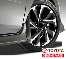 GENUINE TOYOTA COROLLA iM 2017  MUDGUARDS MUDGUARD MUD SPLASH GUARD SET OEM