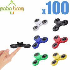 LOT-100X-HAND-SPINNER-TRI-FIDGET-STEEL-BALL-TOY-EDC-FINGER-GYRO-FOR-KIDS-ADULT