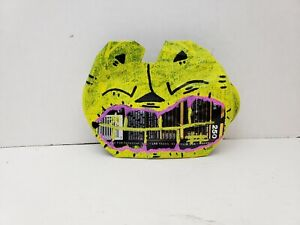 Recycled Soda Can Art upcycle materials by NYC graffiti artist PUKE