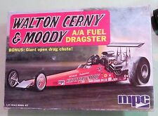 MPC Walton Cerny & Moody A/A Fuel Rail Dragster Vintage Drag Built Kit w/ Boxtop