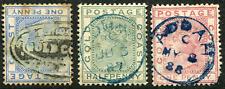 GOLD COAST (1052): ADDAH postmarks/QV cancels