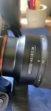 Sony a7r ii with lens FE 24-70 GM with batteries and charger