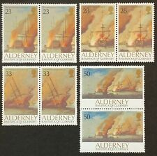 Alderney. Battle of la Hogue Stamp Set. A52/A55. 1992. MNH. (SC03)