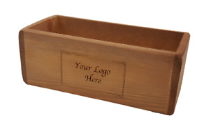 Personalised Wooden Condiment Holder Box