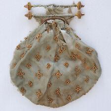 Antique Georgian beaded purse for restoration / remaking