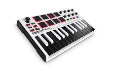 Akai Professional MPK Mini MKII White | 25-Key Ultra-Portable USB MIDI Drum P...