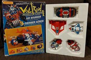Vintage 1984 Matchbox Voltron Air Warrior w/ Box See Damages