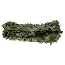 Durable Woodland Leaves Camouflage Camo Army Net for Camping Hunting 7x1.5m