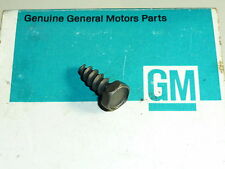 NOS Corvette Dash Lens Screw Camaro Genuine GM Original GTO 442 Firebird Z-28