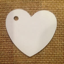 24 Heart Tags In White-Valentines - Wedding-Wish Tree Tags  SP