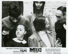 FEDERICO FELLINI AMARCORD  1973 VINTAGE PHOTO ORIGINAL #15