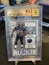 2010 Playoff Contenders Rookie Ticket Earl Thomas RC AUTO RAVENS!! BGS 9.5 w/ 10