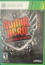 Xbox 360 PAL Guitar Hero Warriors of Rock Wireless Guitar & Game Bundle