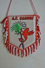Fanion ancien de foot, AS Cannes, Club de Cannes