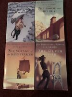 The Chronicles of Narnia book set 2,3,5,& 6 by C.S Lewis