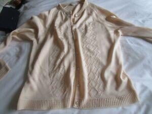 St Joan Tricel Ladies Vintage Cardigan Size 12