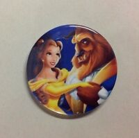"New Disney Beauty And The Beast Movie 2.25"" Large Button Badge Pin Belle"