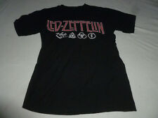 ZOSO IV SYMBOL LED ZEPPELIN ROCK CONCERT SHIRT SIZE M T-SHIRT 2011 MYTH GEM TOUR