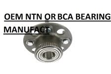 OEM MANUFACT BCA BEARING OR TNT Wheel Bearing and Hub Assembly Rear WE60560